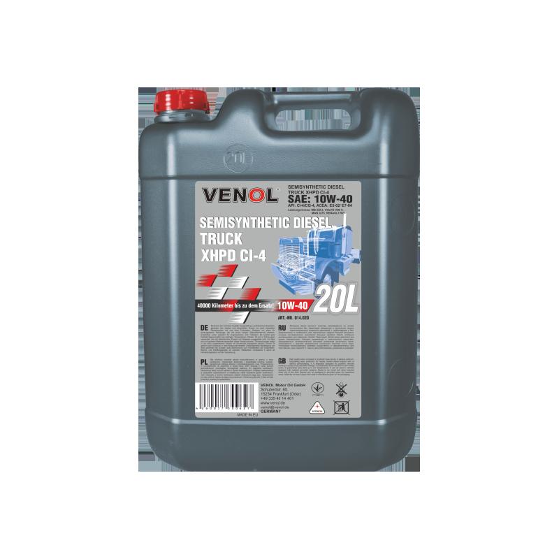 VENOL SUPER TRUCK SHPD  CG 4 CH 4 15W 40